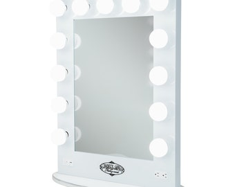 Starlet Lighted Vanity Mirror Reviews : Starlet Lighted Vanity Mirror Black by HollywoodVanityGirl on Etsy