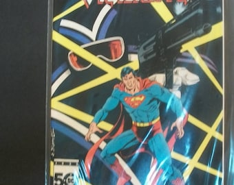1985 DC Comics Presents #92 Superman And Vigilante VF Vintage  DC Comic Book