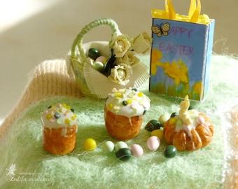 Big Easter set 1:12.Большой пасхальный набор