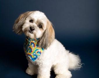Tie Dye Dog Bandana