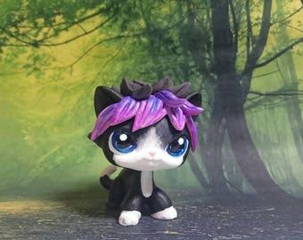 Lps cat custom Milas  black purple