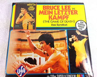 Bruce Lee The Game of Death 8mm Film - Super 8 Film - 8mm Cartoon Films - Very Rare