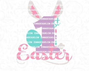Easter svg cut files, 1st easter svg, easter day svg, first easter day svg, 1st svg, svg easter, htv cut files, easter dxf, Zemma Designs