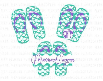 Mermaid svg files, flip flop svg, mermaid svg, mermaid scales svg, beach svg files, summer svg, svg mermaid, svg flip flops. svg summer