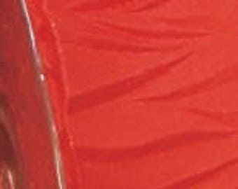 """CLEARANCE! -- 1 1/2"""" French Wired Red Gathered Taffeta Ribbon - 11YDS - Only  3 Rolls Left!!"""