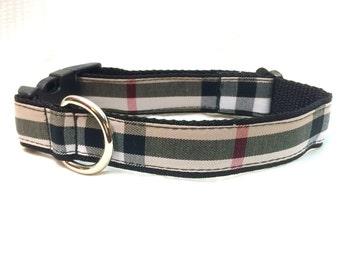 Burberry Dog Collar Etsy