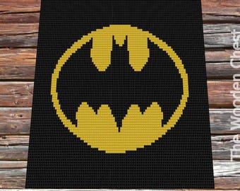 Batman Cross Stitch Etsy