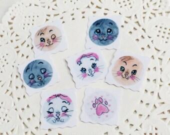 Art Print Stickers: Disney inspiriert the Aristocats Stickers