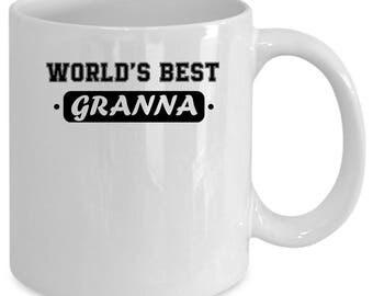 Granna white coffee mug. Funny Granna gift