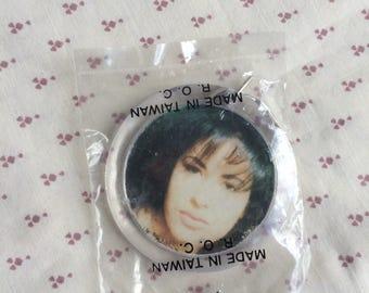 Vintage 90s Selena Quintanilla keychain, Selena Keychain, Selena Quintanilla Keychain, Vintage Key chain