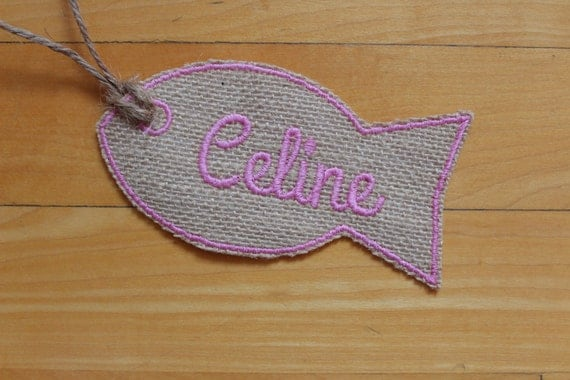 Name patches for stockings