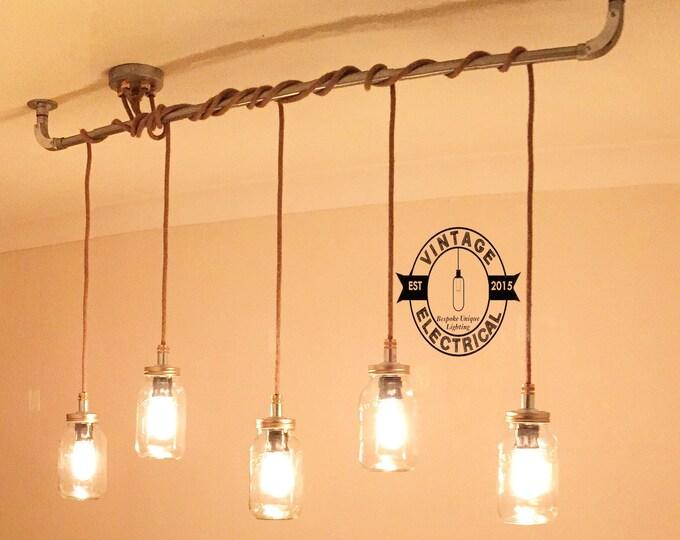the burnham kilner edition 5 x pendant drop light hanging lights ceiling dining room retro kitchen