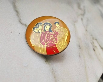 Culture Club , vintage pins , rare .