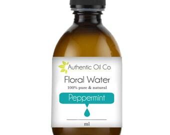Peppermint Floral Water Hydrosol 10ml 50ml 100ml