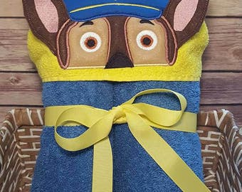 Character Hooded Towel Bath Towel Beach Towel Embroidered Towel Personalized Towel
