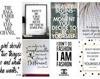Quotes From Chanel Planner Stickers