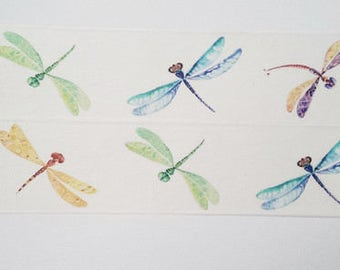 Design Washi tape Dragonfly watercolor
