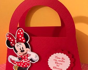 Minnie Mouse Purse Gift Box