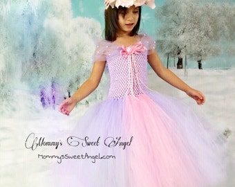 Rapunzel tutu dress. Adorable princess tutu dress. Cute birthday tutu. 2-piece set.  Available in many colors!!!