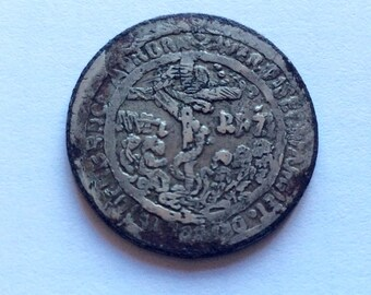 16th century Germany Bohemia coin Saturn's talisman for protection of the Black Plague