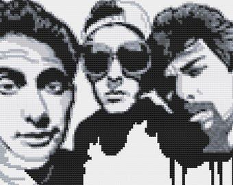 Beastie Boys Cross-Stitch Pattern