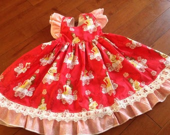 Beauty and the Beast themed dress, Belle themed dress