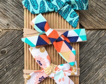 Trendy fabric bows