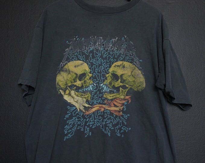 Metallica Sad but True skull Pushead 1991 vintage Tshirt
