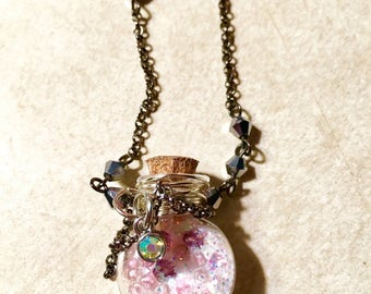 Pink Pixie Dust Necklace