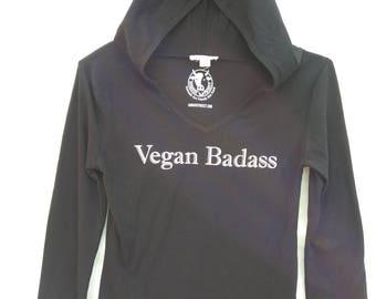 Vegan Badass Lightweight Hoody