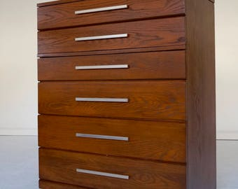 Amazing U0026 Rare Designer Highboy Dresser Designed By Raymond Loewy For Mengel   1950u0027s Professionally Restored