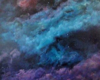 Nebula Diptych