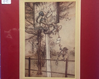Arthur Rackham: Peter Pan in Kensington Gardens