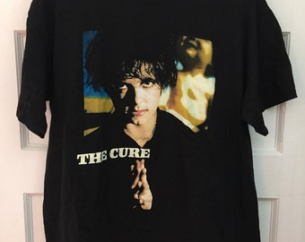The Cure band Wild Mood Swings tour t-shirt vintage Robert Smith Size L