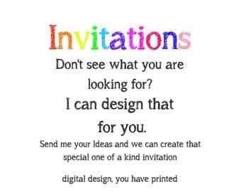 create your own invite