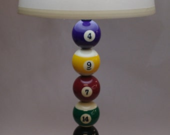 Pool Ball Game Lamp