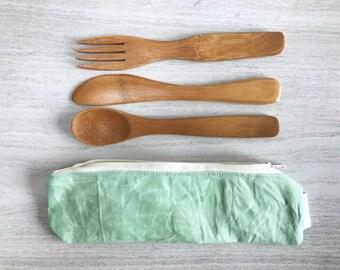 Reusable Bamboo Utensil Set - Zero Waste Lunch