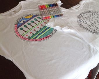 color-it-in*peace*t-shirt