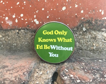 The Beach Boys - God Only Knows What I'd be Without You - Hard Enamel Pin