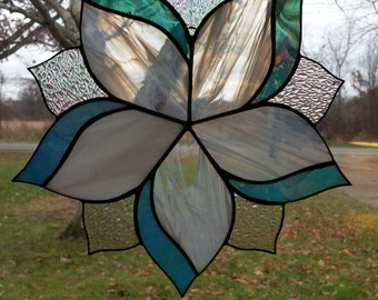 Large Stained Glass Swirl