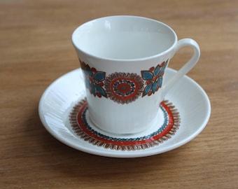 Figgjo Flint Turi Design 'Astrid' coffee cup and saucer