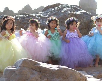 AVA, tutu dress, tea length dress, flower girl dress, pageant dress, toddler tutu dress, party dress, birthday dress, christening dress,tutu