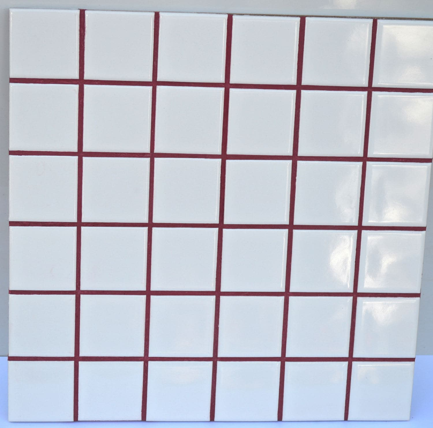 Wine Red Grout, Sanded Grout, Red Pigment Added Shipping Included Tile  Grout Colors