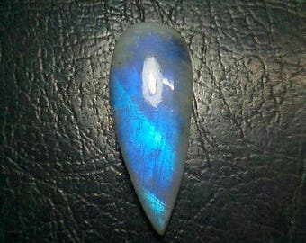 Rainbow Moonstone Pear Shape Cabochon