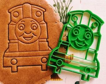 cc0341 Train Thomas Cookie CutterThomas & Friends cookiecutter cookies custom shape custom size custom picture