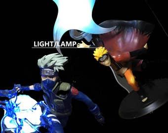 Anime Action Figure Model Rasen Shuriken Naruto Light Lamp Odama Rasengan
