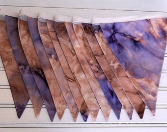 3m Tie Dye Double Sided Bunting