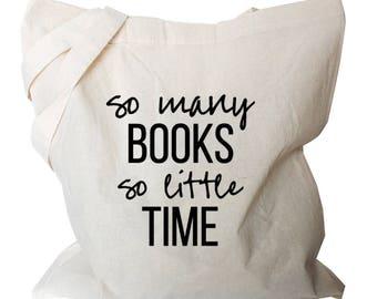 Book Quote Tote Bag - Nerdy Tote Book Bag - Book Quote Tote