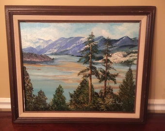 Original Lillian Ferren Painting