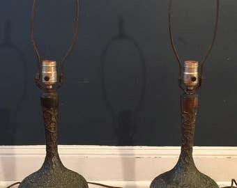 Westwood Brutalist Metal Table Lamps